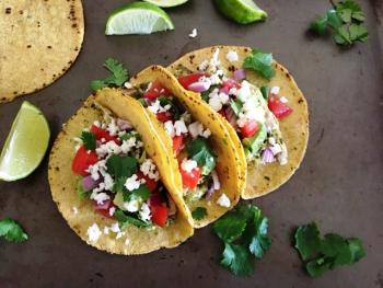 Grilled Chile Chicken Tacos Cooking Recipe
