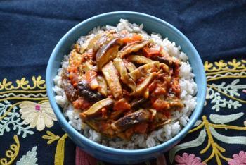 Kashmiri Mushroom Stir Fry Cooking Recipe