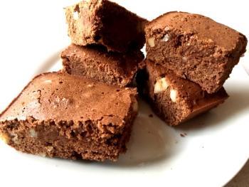Macadamia Bourbon Brownies Cooking Recipe