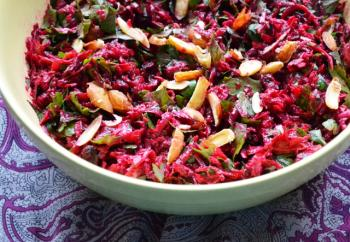 Moroccan style Beet Salad w/ Sriracha Dressing Cooking Recipe