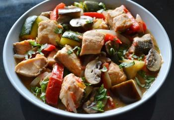 Mediterranean Fish Stew Cooking Recipe