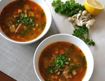 Mixed Mushroom Soup Cooking Recipe