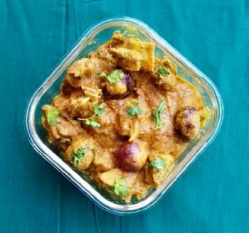 Mutton Korma Curry Cooking Recipe