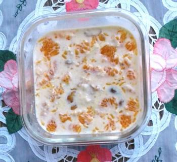 Orange Pudding Recipe