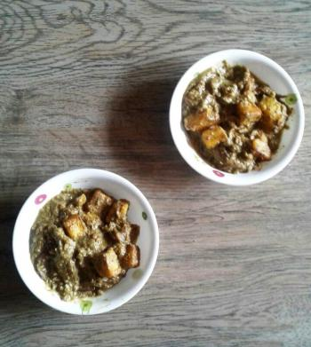 Paneer Potato Curry Cooking Recipe