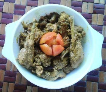 Chicken Cooked with Poppy seeds Cooking Recipe