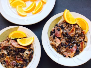 Slowcooker Feijoada - Brazilian Pork & Black Bean Stew Cooking Recipe
