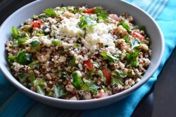 Quinoa Tabouli Cooking Recipe