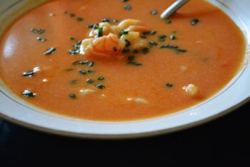 Shrimp Bisque Soup Cooking Recipe