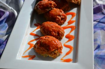 Spicy Mini Meat Loaves Recipe