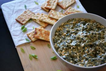 Spicy Spinach Dip Cooking Recipe