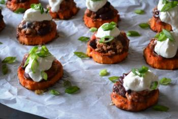 Loaded Sweet Potato Bites Recipe