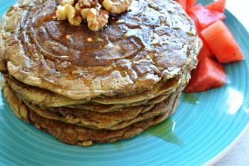 Teff & Herbs Pancake Cooking Recipe