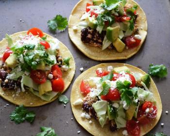 Spicy Tofu & Bean Tacos Cooking Recipe