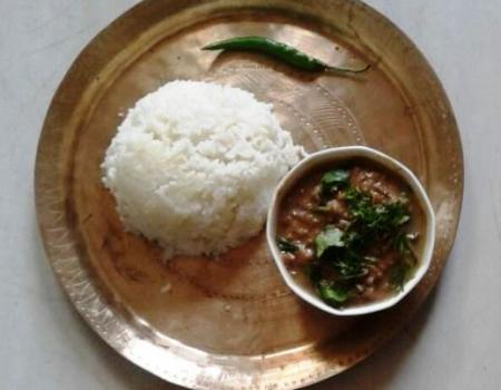 Banana Stem Alkaline Curry Cooking Recipe