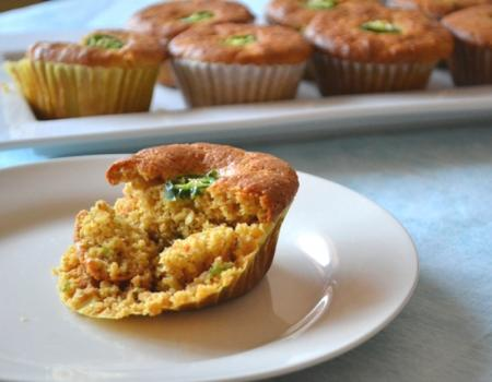 Brown Butter & Sour Cream Cornbread Muffins w/ Jalapeno Cooking Recipe