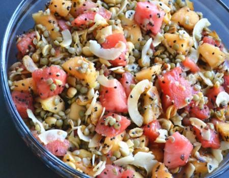 Burmese Melon Salad (Gin Thoke) Cooking Recipe