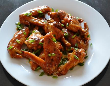 Sweet & Spicy Chicken Wings Cooking Recipe