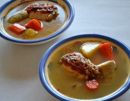 Colombian Chicken Soup (Sancocho) Cooking Recipe