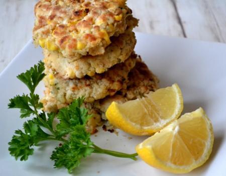 Crab & Corn Cakes Cooking Recipe
