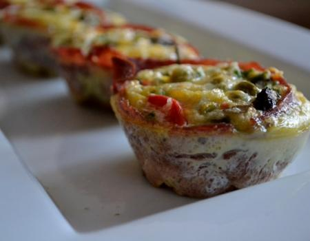 Egg Muffins with Turkey Bacon Cooking Recipe