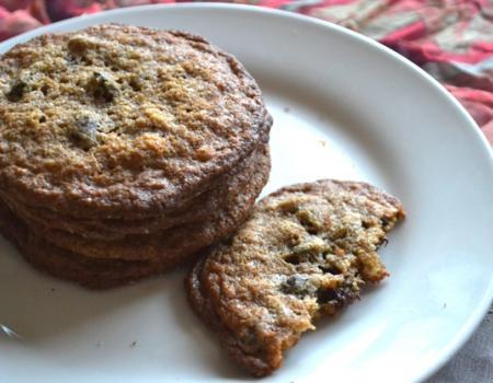 Gluten Free Gingerbread Chocolate Chip Cookies Baking Recipe