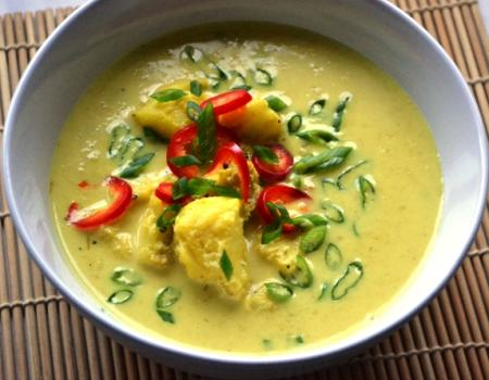 Malaysian Fish Curry Cooking Recipe