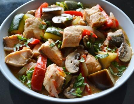 Mediterranean Fish Stew Cooking Recipe