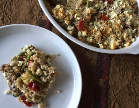 Mediterranean-style Sardine Rice Bake Recipe
