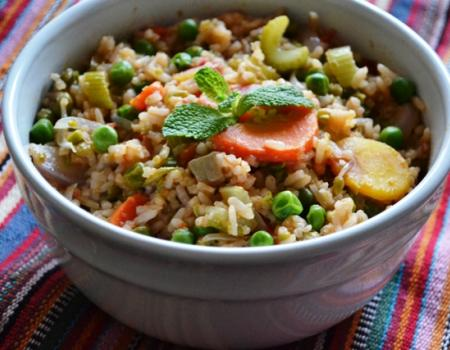 Mexican Quick Fried Rice Cooking Recipe