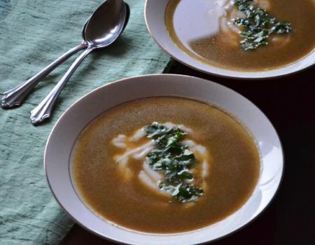 Moroccan Butternut Squash Soup Cooking Recipe