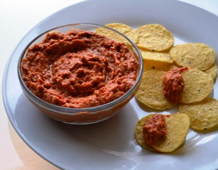 Muhammara (Red Pepper & Walnut Dip) Cooking Recipe