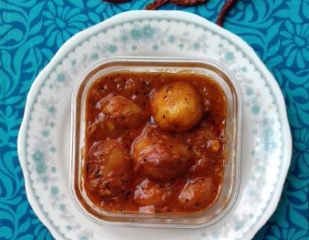 Nepalese Potato Stew Cooking Recipe