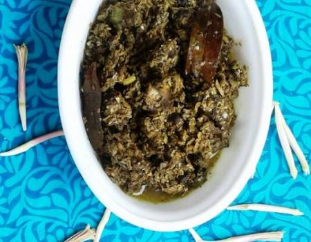Pigeon with Banana Flower Cooking Recipe
