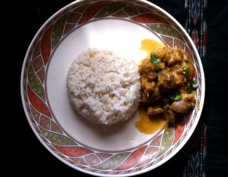 Lamb & Pumpkin Curry Cooking Recipe