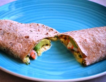Microwave Shrimp & Avocado Quesadilla Cooking Recipe