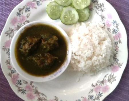 Catfish with Spinach Cooking Recipe