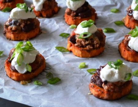 Loaded Sweet Potato Bites Recipe