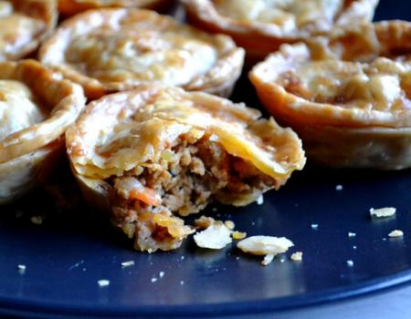 Thai Red Curried Mini Meat Pies Cooking Recipe