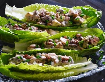 Three Bean Salad w/ Creamy Za'atar Dressing Recipe