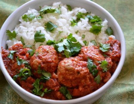 Turkey Kofta Curry Cooking Recipe