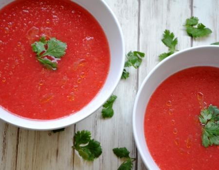 Watermelon Gazpacho Drink Recipe