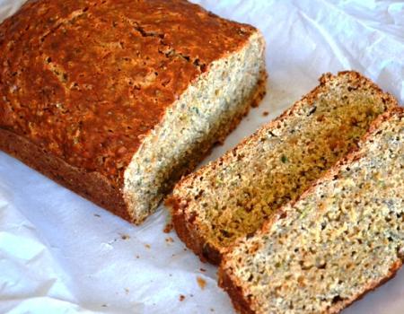 Zucchini Sweet potato Quick Bread w/ Chia Seeds Baking Recipe